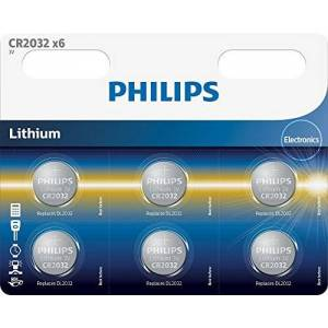 Philips Minicells Pile Bouton Piles Non-Rechargeables (Lithium, Button/Coin, CR2032, CD (Cadmium), HG (Mercure), PB (Plomb)) - Publicité