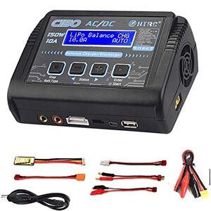RUIZHI Chargeur LiPo, Chargeur de Balance de Charge 150W 10A AC / DC pour Batterie Li-ION / Life / NiCd / NiMH / LiHV / PB / Intelligente (Adaptateur de Chargeur de Batterie) - Publicité