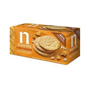 NAIRN'S (2 Pack) Nairns Stem Ginger Wheat Free Biscuit   200g   2 PACK BUNDLE - Publicité