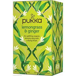 Pukka Lemongrass & Ginger Tea 20 per Pack - Publicité
