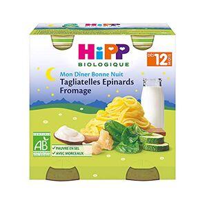 Hipp Biologique HiPP Petit pot : Tagliatelles-Epinards-Fromage ds 12 mois - Publicité