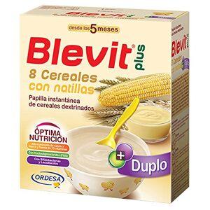 Blevit Blevit Duplo 8 Céréales + Custard 600 GR - Publicité