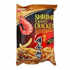 Nongshim Crackers Saveur Crevettes (HOT)  75g - Publicité