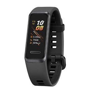 Huawei Band 4 Tracker d'activité Fitness avec cran Couleur de 0.96 Pouce, Moniteur de Sommeil, GPS, tanche 5ATM, Plus de 6 Jours d'utilisation, Noir - Publicité