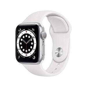 Apple Nouveau Watch Series6 (GPS, 40 mm) Botier en Aluminium Argent, Bracelet Sport Blanc - Publicité