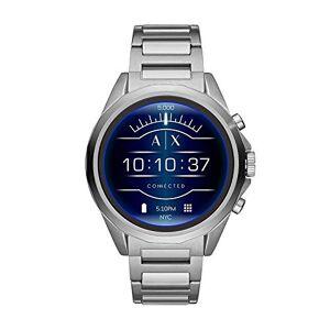 Armani Montre connectée  écran Tactile Armani Exchange pour Homme avec Bracelet en Acier Inoxydable AXT2000 (renouvelée) - Publicité