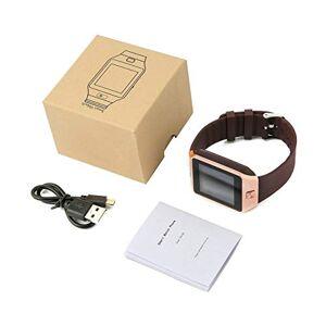 Pudincoco Montre Intelligente avec caméra Montre-Bracelet Vibrant Rend Moniteur de Sommeil Support SIM TF Carte pour iOS et téléphone Android - Publicité