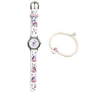 De La Prada Ensemble Agatha Ruiz de la Prada collection fantaisie fille AGR300 blanc montre bracelet en argent Unicorn Modle: AGR300 - Publicité