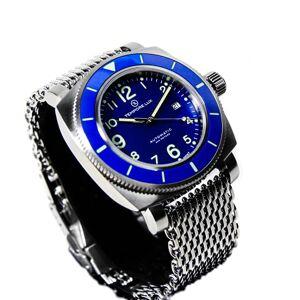 Tempore Lux V One Swiss Automatic 02 Montre Bleu- Milanese - Publicité