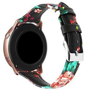 Lux Mary 20mm Bracelet Montre en Cuir Véritable, Montre Bracelet  Dégagement Rapide (20mm, Multicolore 22) - Publicité