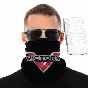 FDGRF Victory Motorcycles Men Women Outdoor Sports Windproof Breathable Variety Face Towel
