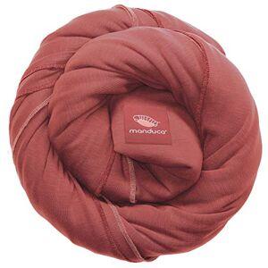 Manduca Sling > Rouge < lastique pour bébé avec certificat GOTS 100% coton biologique 3 instructions (franais non garanti) - Publicité