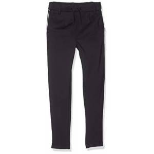 Only Kids Only Konpoptrash Easy Piping Pant Pantalon, Bleu (Night Skypiping-White), 140 Fille - Publicité