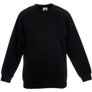 Fruit of the Loom Sweatshirt pour Enfant (9-11 Ans) (Noir) - Publicité