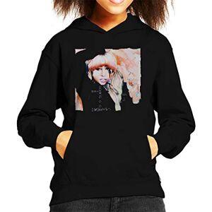 VINTRO Chanteuse Lady Gaga Enfant Sweat à Capuche Original Portrait par Sidney Maurer (Jet Black, M) - Publicité