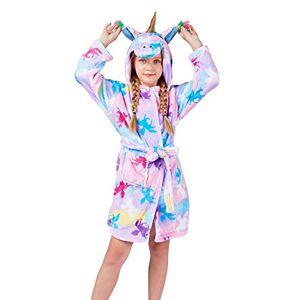 TopColor Peignoir Enfant Robe de Licorne Unisexe Flanelle Chemise de Nuit à Capuche - Publicité