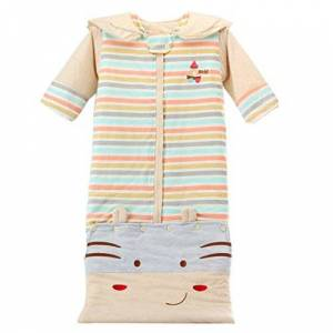 GudeHome Gigoteuse bébé d'hiver Manches Longues Nouveau-né Gigoteuses Couverture  emmailloter Cartoon bébé Sacs de couchage - Publicité