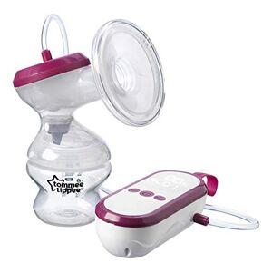 Tommee Tippee Tire-Lait lectrique, Appareil Portable et Rechargeable par USB, Trs Silencieux avec Modes de Tirages et Massages - Publicité