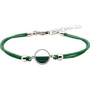LABISE Paris Bracelet Demi-Lune Malachite - Publicité