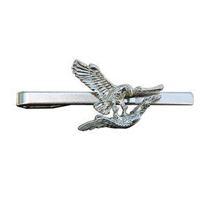 Kiwi Pince  Cravate Aigle Fait  la Main en Etain Fabrication Franaise - Publicité