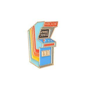PULABO Dessin Animé Vintage Arcade Broche Pin Denim Revers mail Badge Sac Décor Coloré Nouveau Publié Qualité Stable, Rapport qualité Prix élevé - Publicité