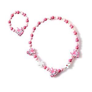 DANDANdianzi Enfants Cartoon Collier Kid animal coloré perles bracelet Enfant Accessoires Bijoux Floral Perles Accessoires de mode Bracelet - Publicité