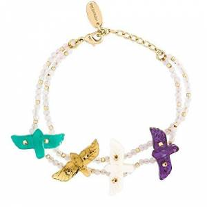 HIPANEMA Bracelet Double Lien Emperor - Publicité