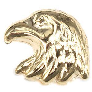 nicht zutreffend SchmuckDesign-Nord Boucles d'oreilles pour homme en or jaune 585 avec tte d'aigle - Publicité