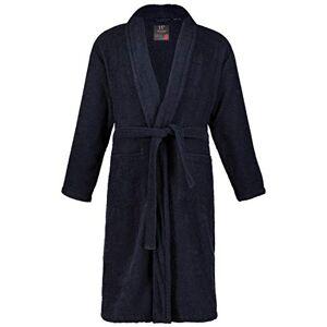 JP 1880 Homme Grandes Tailles Peignoir éponge col châle Tissu en Coton Bleu Marine 7XL 702388 76-7XL - Publicité