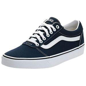 Vans Ward, Sneakers Basses Homme Bleu ((Canvas) Dress Blues/White Jy3) 46 EU - Publicité