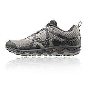 Mizuno Wave Mujin 6, Chaussures de Trail Homme, Gris (Gray/Pscope/10135 C 36), 43 EU - Publicité