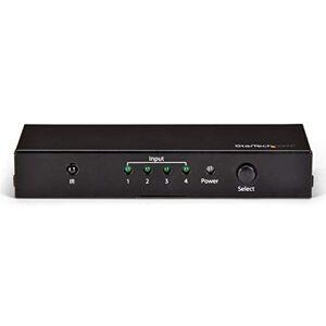 StarTech.com Switch HDMI 4 ports Commutateur HDMI 4x1 Switch automatique Ultra HD 4K 60 Hz (VS421HD20) - Publicité