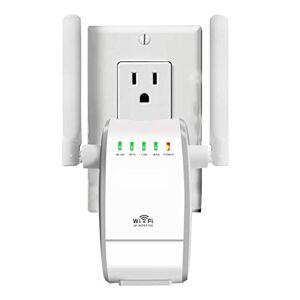 AWINLI 300 Mbps Routeur Sans Fil Wireless Mbps WiFi Répétiteur Wireless Extenseur Réseau Adapteur Internet Amplificateur De Signal Répondre Aux Normes IEEE Et  La Fonction WPS - Publicité