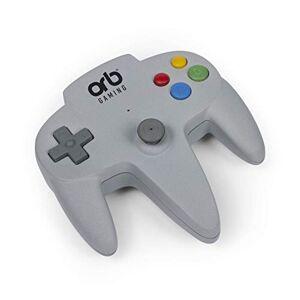 Orb Gaming - Orb-Contrleur Retro Arcade Blanc-y Compris 200x Jeux 8 Bits, Or-RETARC - Publicité