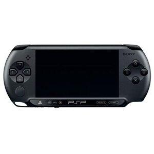 Sony Console PSP Street (E1004 noire) - Publicité