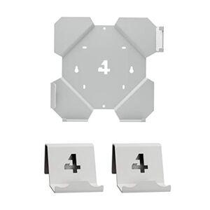 4mount Wall Mount Support mural pour Playstation 4 Slim Paquet Blanc - Publicité