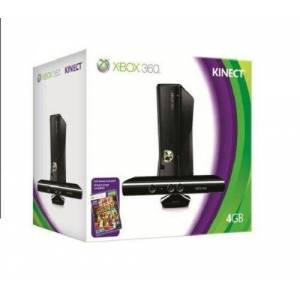 Microsoft Console Xbox 360 4 Go + Kinect + Kinect adventures ! (jeu Kinect) - Publicité