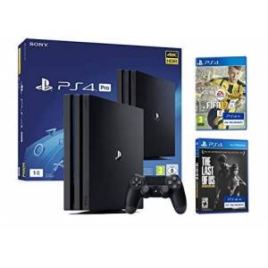 Sony PS4 PRO 1To Playstation 4 PACK 4K 2 Jeux 4K Originaire FIFA 17 + The Last Of Us: Remastered - Publicité