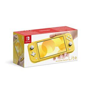 Nintendo Switch Lite, standard, Jaune - Publicité