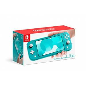 Nintendo Console Nintendo Switch Lite turquoise - Publicité
