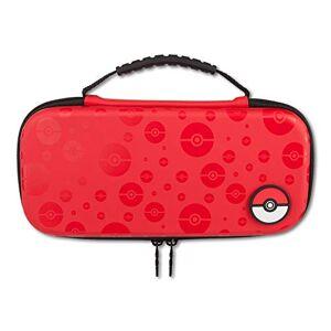 PowerA Boîtier de Protection/Pochette de Transport Pokémon Poke Ball pour Nintendo Switch rouge - Publicité