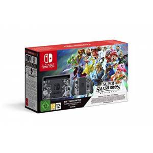 Nintendo Switch+Super Smash Bros Ultim. Publicité