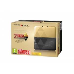 Nintendo CONSOLA 3DS XL EDICIoN ESPECIAL LIMITADA ZELDA + CODIGO DESCARGABLE - Publicité