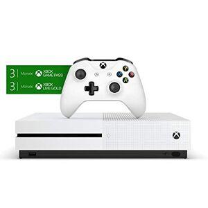 Microsoft Pack Xbox One S 500Go 3M Game Pass + 3M LIVE - Publicité