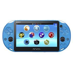 Sony PlayStation Vita PCH-2000ZA23 Wi-Fi Model Aqua Blue (Japan Import) - Publicité