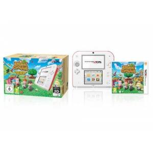 Nintendo Console Nintendo 2DS (wei+rot) + Animal Crossing limited edition [import allemand] - Publicité