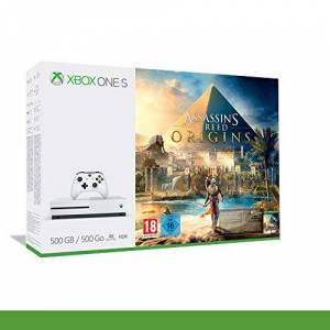 Microsoft Xbox One S 500 Go + Assassin's Creed Origins [Bundle] - Publicité