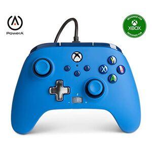 PowerA Manette filaire améliorée PowerA pour Xbox  Bleue, Manette de Jeu, Manette de Jeu Vidéo Filaire, Manette de Jeu, Xbox Series X S - Publicité
