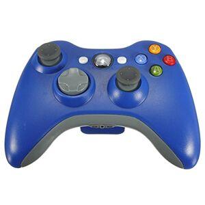 Althemax Nouveau sans fil Cordless jeu Shock contrleur joypad pour Xbox 360 Bleu - Publicité