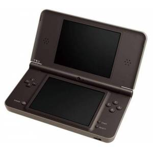 Nintendo Console Nintendo DSi XL chocolat - Publicité
